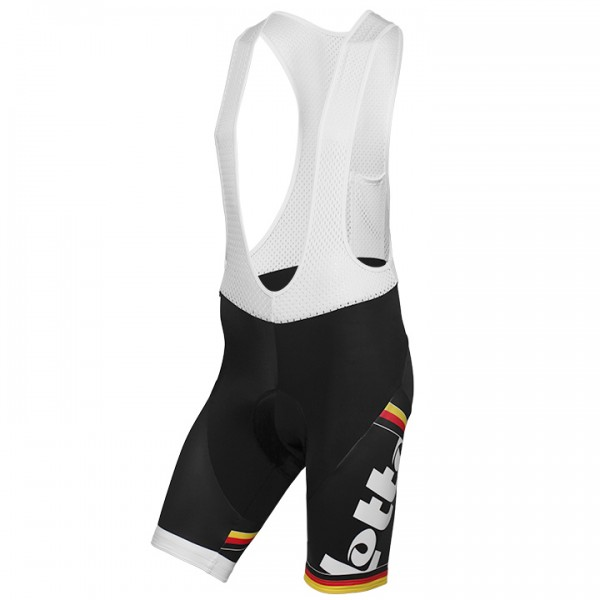 2015 LOTTO BELISOL Bib Shorts German Champion T2651I6790
