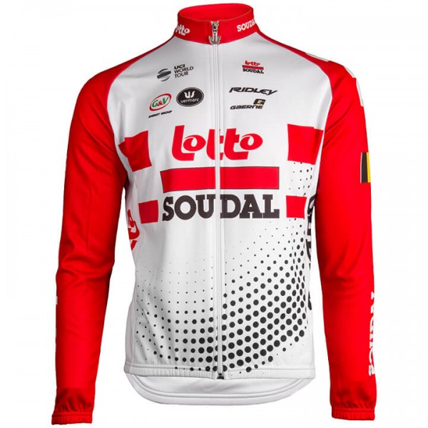 2019 Lotto Soudal Long Sleeve Jersey N5356H9501