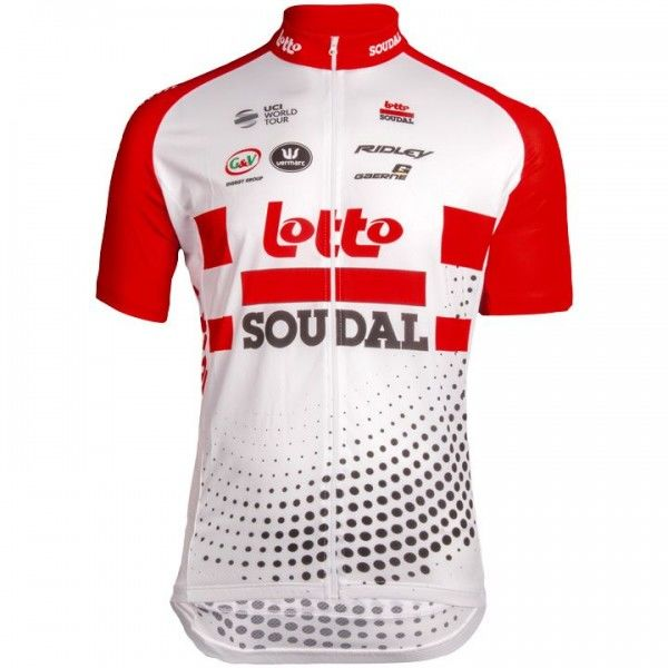 2019 Lotto Soudal Short Sleeve Jersey M7204O7356