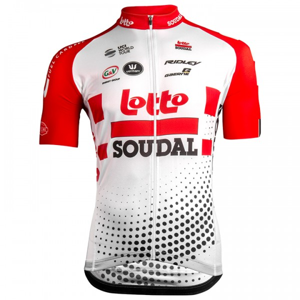 2019 Lotto Soudal Aero Short Sleeve Jersey N1237H3939
