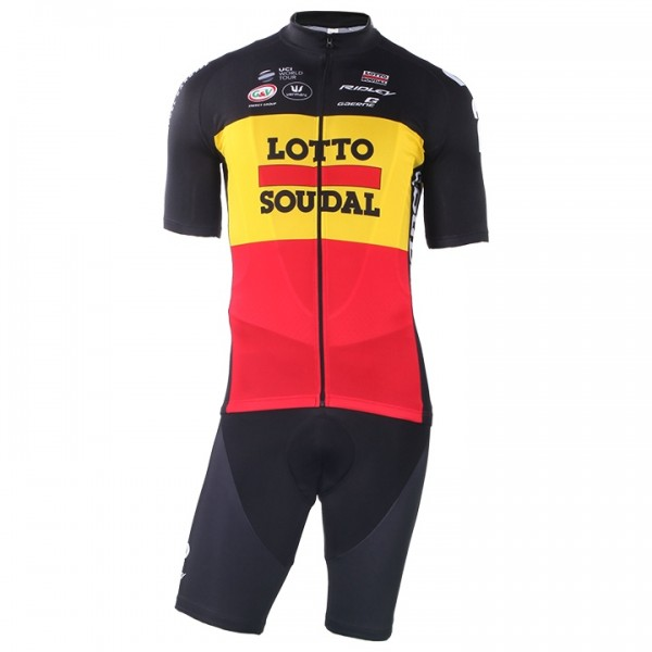 2018 LOTTO SOUDAL Belgian Time Trial Champion Set (2 pieces) Z7378Y8597