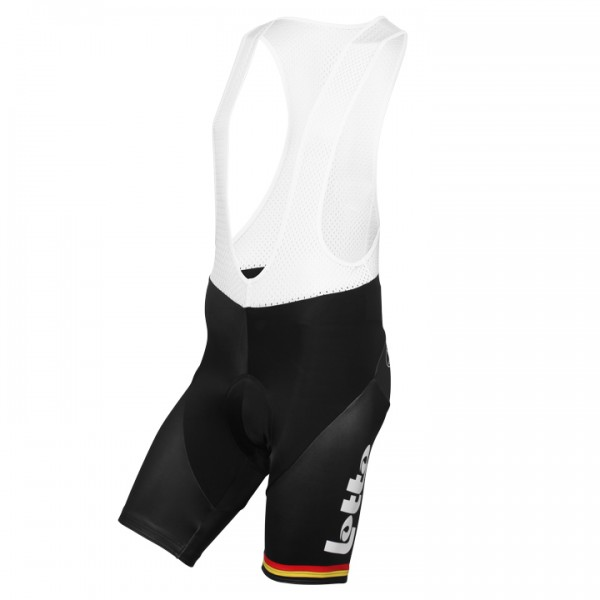 2015-2016 LOTTO SOUDAL Bib Shorts Belgian Time Trial Champion K7248M8611
