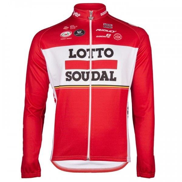 2017 LOTTO SOUDAL Long Sleeve Jersey H6802J6136