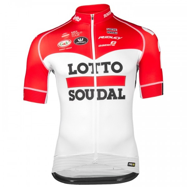 2018 Lotto Soudal PRR Short Sleeve Jersey X9422T0222