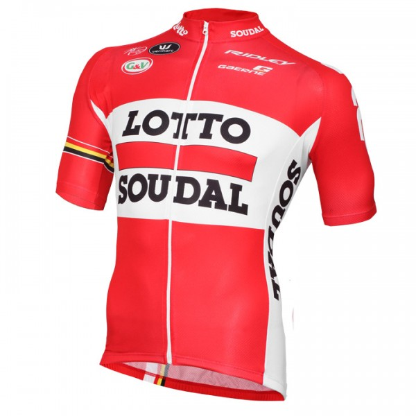 2015 LOTTO SOUDAL Short Sleeve Jersey F0419A1336