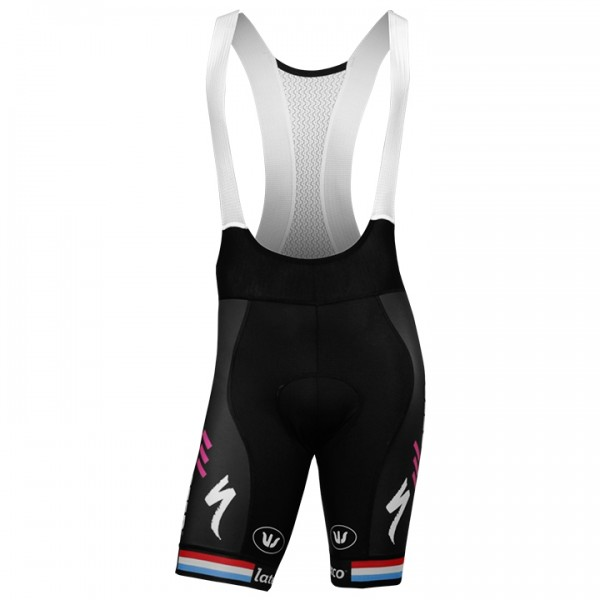 2018 QUICK-STEP FLOORS Bib Shorts Luxembourgian Champion F9991Y6787