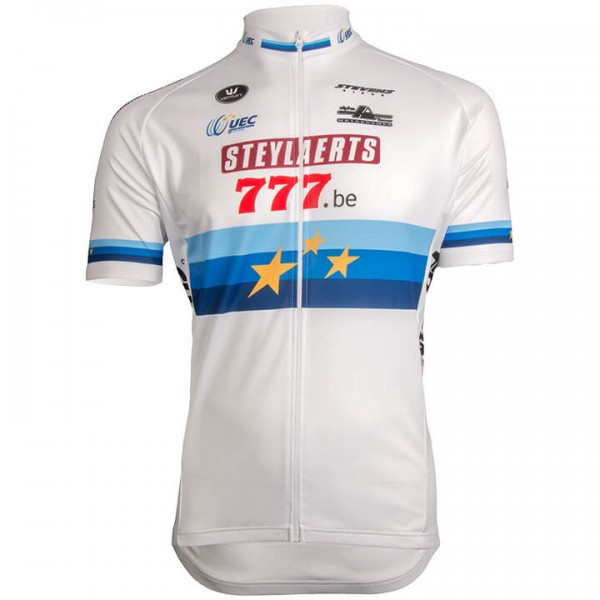2019 STEYLAERTS-777 Short Sleeve Jersey European Champion G4458W9174