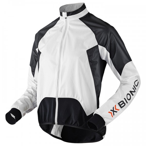 X-BIONIC Spherewind AE Wind Jacket white-black D7213T3157
