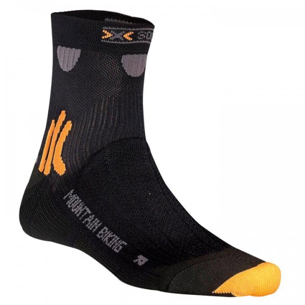 Cycle socks X-socks MTB short black X2697U6441